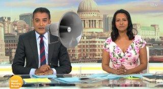 Adil Ray and Ranvir Singh on Good Morning Britain