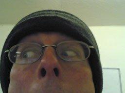 Shifty eyed Stef
