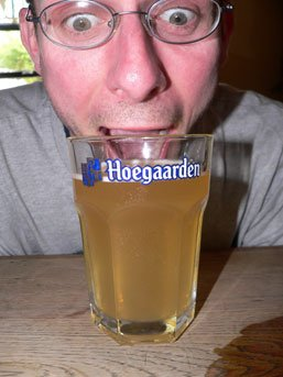Beers of Europe #3: Engulf Hoegaarden before damp patch encroacheth