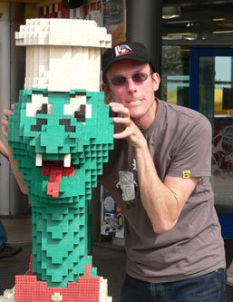 Mind meld with the Lego dragon