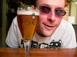 Beers of Europe #5: Stef keeps an eye on the Bruges Zot jester