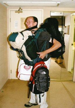 Excess baggage, sir?