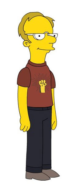 If Stef was a Simpsons character