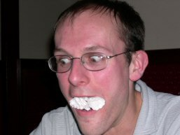 Beermat mouth